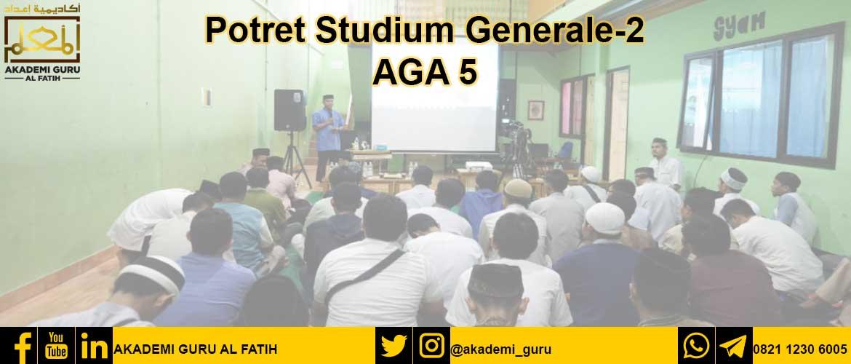 Potret Studium Generale-2 AGA 5